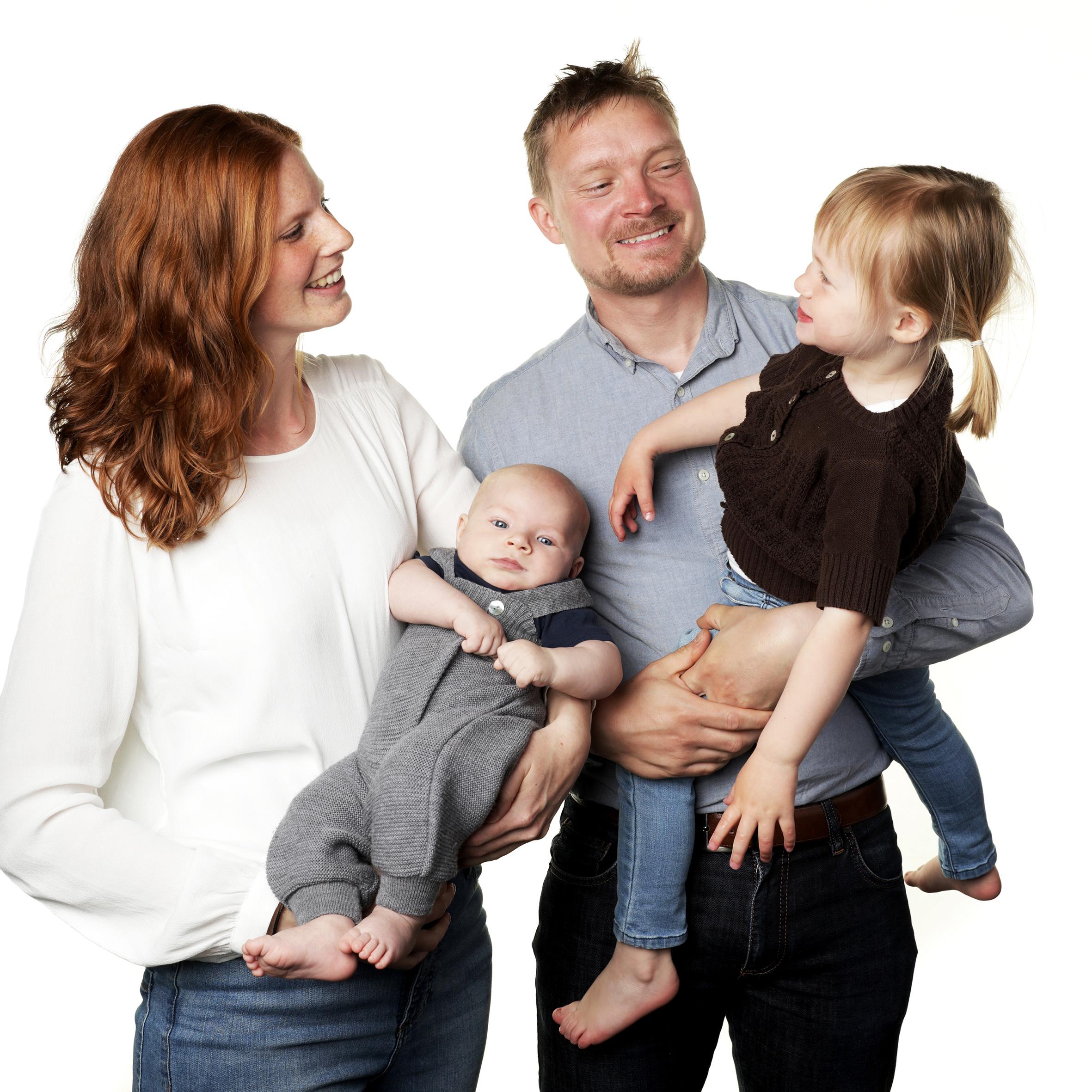 Familie Fotografering
